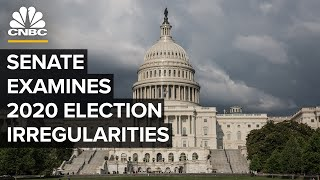 Senate holds a hearing on examining irregularities in the 2020 election — 12/16/2020