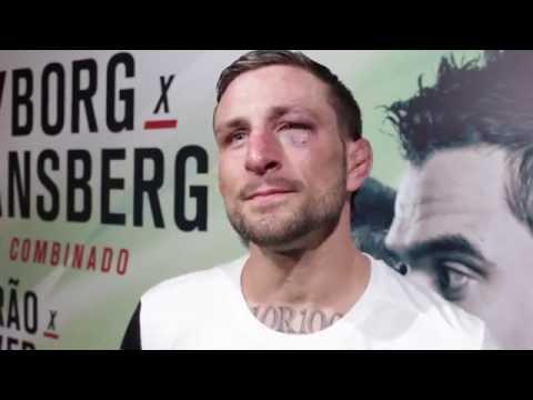 Gregor Gillespie Post-Fight Interview at UFC Fight Night 95 in Brasília
