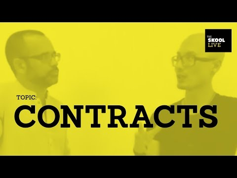 Contracts: The In's And Outs Of Creative Service Agreements & Statement of Work