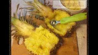 Ананас запеченный с креветками. Лучшее блюдо