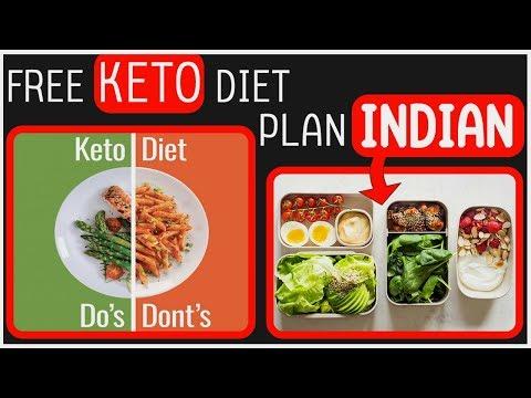 Free Keto Diet Plan for Vegetarians I Keto Indian Diet Recipe (Indian Vegetarian Recipe) thumbnail