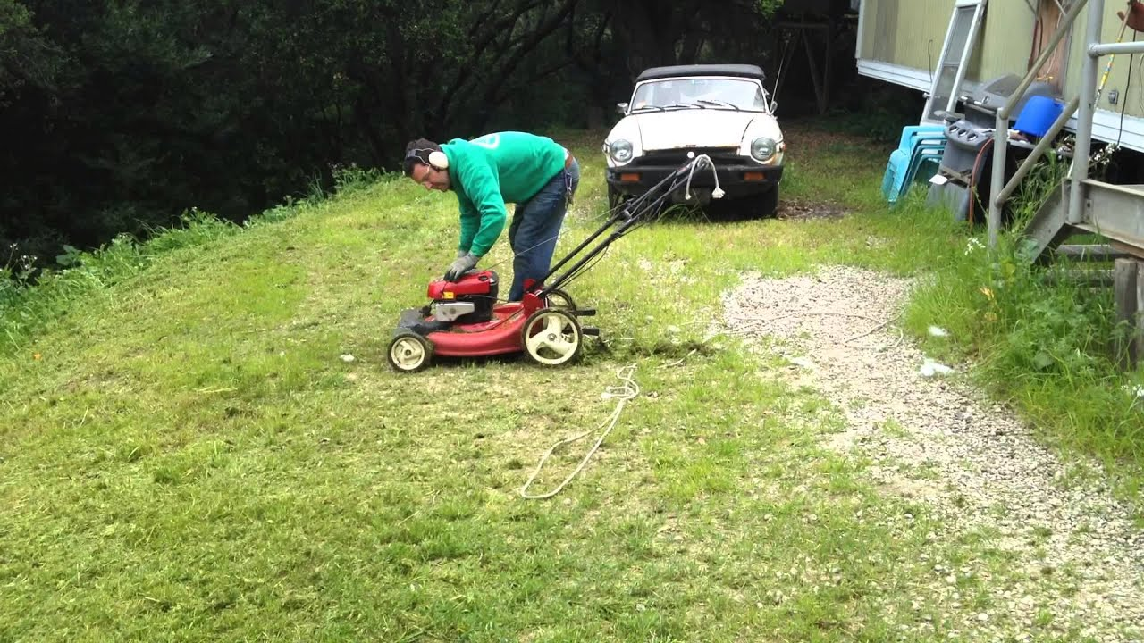 Finally An Inexpensive Hill Slope Steep Lawn Mower