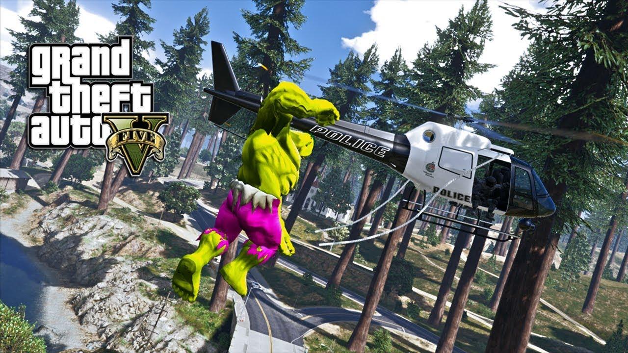 Gta 5 Hulk V2 Mod