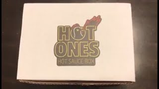 Hot Ones Subscription Box Unboxing -January
