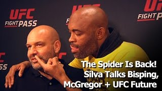 "Anderson Silva Not Worried About Bisping's Bad ""Jokes""; Talks Conor vs Brazilians + UFC Return"