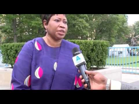 INTERVIEW EXCLUSIVE FATOU BENSOUDA PROCUREUR A LA CPI (cour pénale internationale)