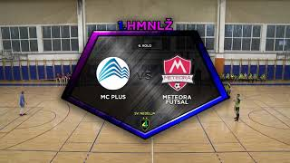 MC PLUS vs METEORA 8:2 (6. kolo, 1. HMNLŽ 20/21)