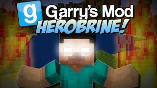 Garry's Mod | HEROBRINE MOD! (Summon Him and Suffer..) | Gmod