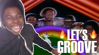 TURN UP!!! Earth, Wind & Fire - Let's Groove (REACTION!!!)