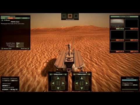 Take On Mars - Career Mode Part 2 - Sand Crater