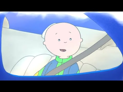 Caillou English Full Episodes | Caillou in the Car | Cartoons for Kids | Caillou Holiday Movie