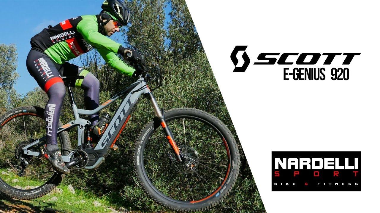 384148113c3 SCOTT E-GENIUS 920 Recensione Nardelli sport - YouTube