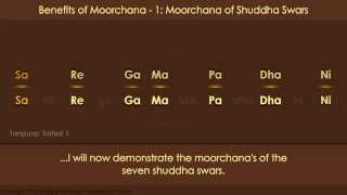 Benefits of Moorchana Part 1: Moorchana of Seven Shuddha Swars