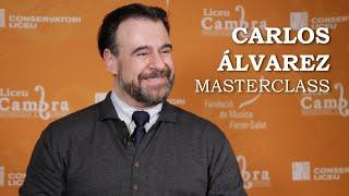 Masterclass amb Carlos Álvarez - cicle Liceu Cambra