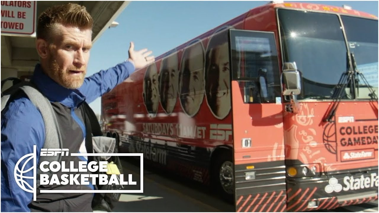 Marty Smith visits eight schools in 25 hours | College GameDay