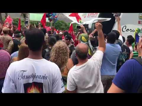 A recepção a Lula em Governador Valadares