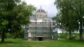 видео Церковь святого Георгия в Ладоге. Георгиевская церковь (Старая Ладога)