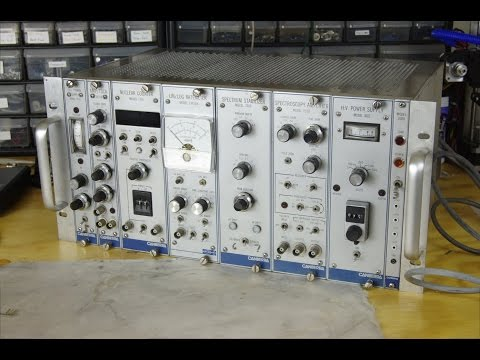 Canberra Nuclear Instrument Module Teardown Part 1