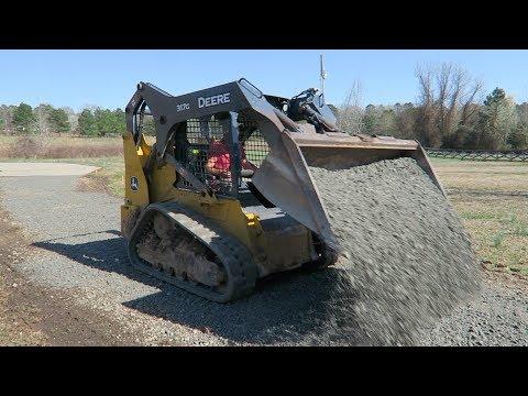 Gravel Driveway Repair For A Lawn Care Customer