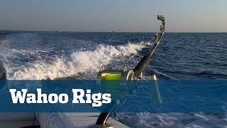 Wahoo Fishing; High Speed Wahoo Rigs