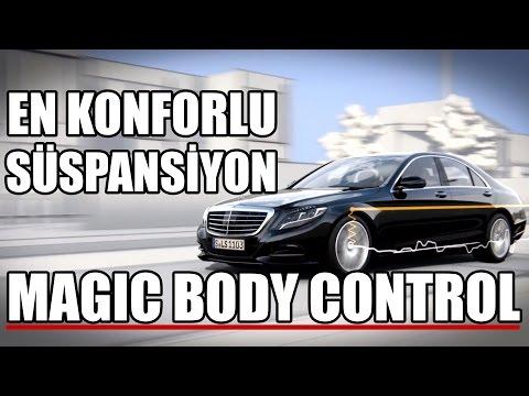 Mercedes Magic Body Control Nasıl Çalışır?   Aktif Süspansiyon