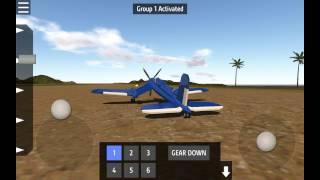 f6u corsair ag w simple planes