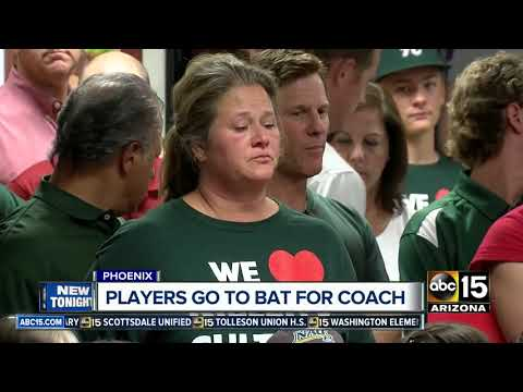 Community Gathers To Support High School Baseball Coach Suddenly Fired