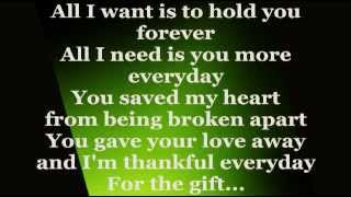 THE GIFT (Lyrics) - ERIK SANTOS