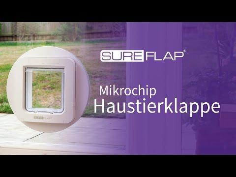 Programmieren Ihres Haustieres  in die SureFlap Mikrochip Haustierklappe