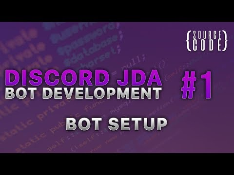 Discord JDA Bot Development - Setting Up The Bot - Episode 1