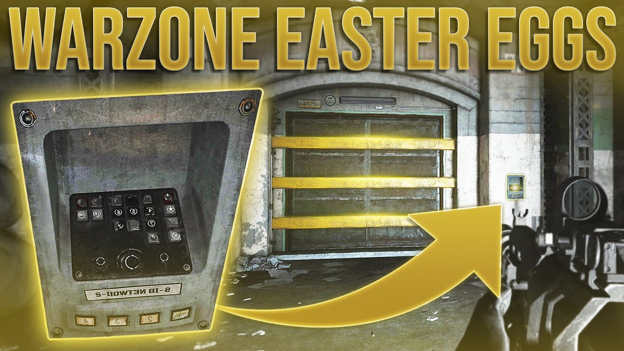 Warzone Easter Eggs & SECRET LOCATIONS!