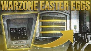 Warzone Easter Eggs u0026 SECRET LOCATIONS!