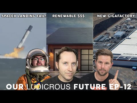 Ep 12 - SpaceX Landing Failure, Tesla China Factory, and EV Incentives Phasing Out