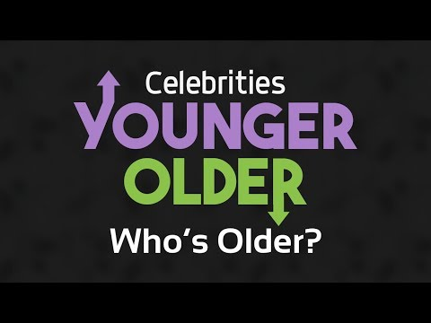 Younger Older Celebrities For Pc - Download For Windows 7,10 and Mac