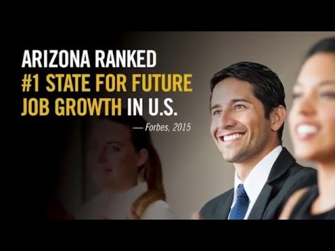 Arizona Ranked #1 State for Future Job Growth - #yesphx Chris Camacho