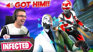Find the guy who's INFECTED...in Fortnite!