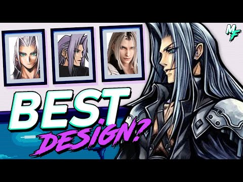 Does Final Fantasy 7 Remake have the BEST Sephiroth Design?
