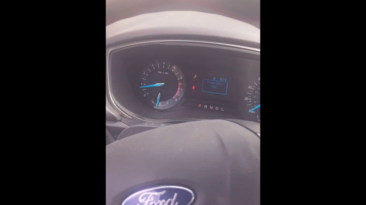 2017 Ford Fusion Battery Dead How Sway