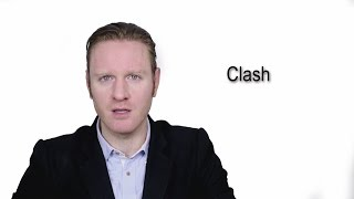 Clash - Meaning | Pronunciation || Word Wor(l)d - Audio Video Dictionary