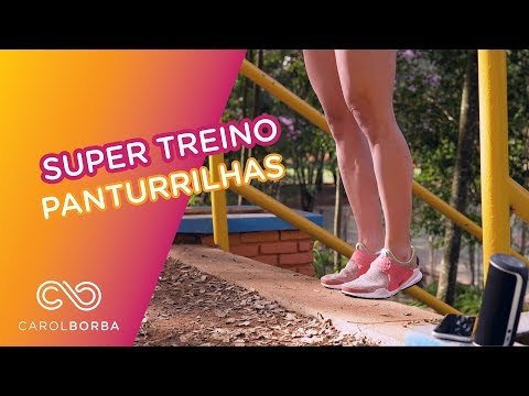 Super treino para Panturrilhas - Carol Borba