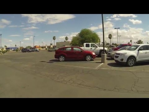 Casing Kmart Parking Lot like a Sausage, Casa Grande, Arizona, 1 May 2016, GOPR0229