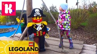 ВЛОГ Летим в Леголенд Германия размещаемся в Лего отеле VLOG Legoland Feriendorf Germany Resorts