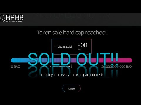 Babb ICO sold out!! Babb and Bax coin going to be huge!