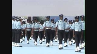 Indian Air Force Auld Lang Syne - the First Salute