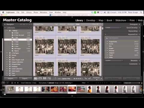 Mastering Lightroom Organization with Peter Krogh