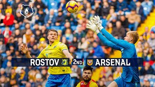 2nd half FC Rostov vs Arsenal Tula, Week 19 | RPL 2018/19