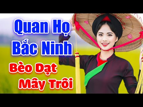 LK Dân Ca Quan Họ Bắc Ninh 2020 - Bèo Dạt Mây Trôi - Mê Mẩn Tiếng Ca Của MC Ngọc Khánh