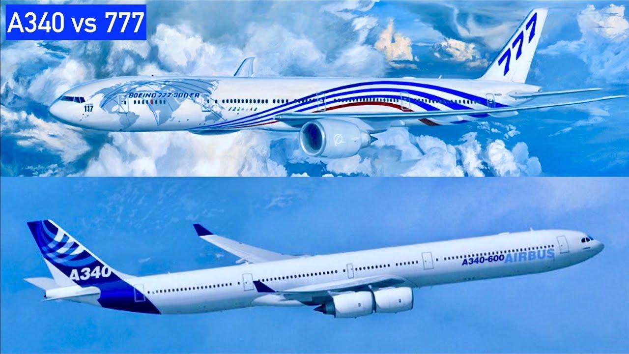 A340 Vs 777