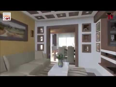 Decoration amenagement appartement 2 alger youtube - Amenagement appartement petite surface ...