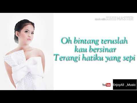 Putri - Bintangku ( lyrics video official )